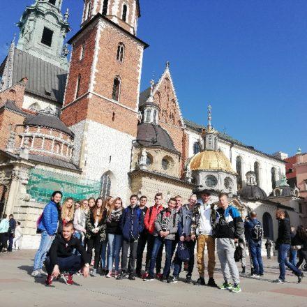 Wycieczka kl 2b do Krakowa