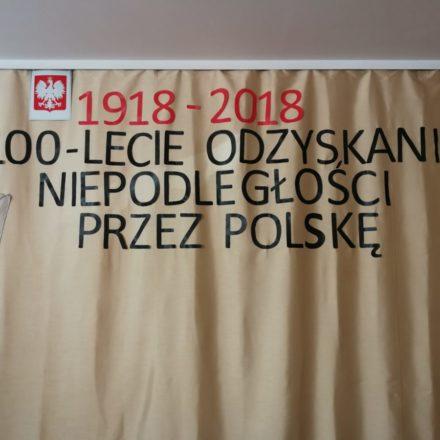 Akademia z okazji 100-lecia niepodległości