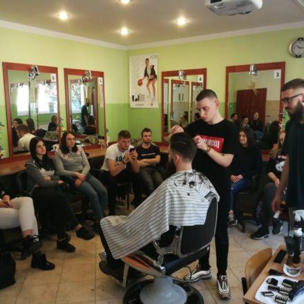 Kurs strzyżenia męskiego z elementami barberskimi
