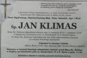 Klepsydra Jan Klimas