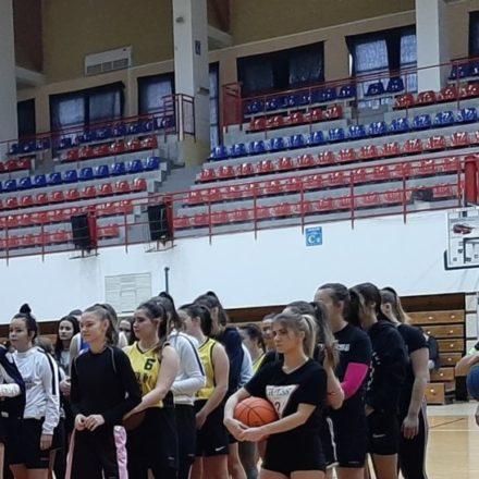 Eliminacje Mistrzostw Nowego Sącza w piłce koszykowej.