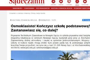 Sadeczanin info o PTZ zdjęcie