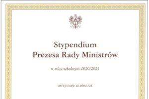 Stypendium PRM